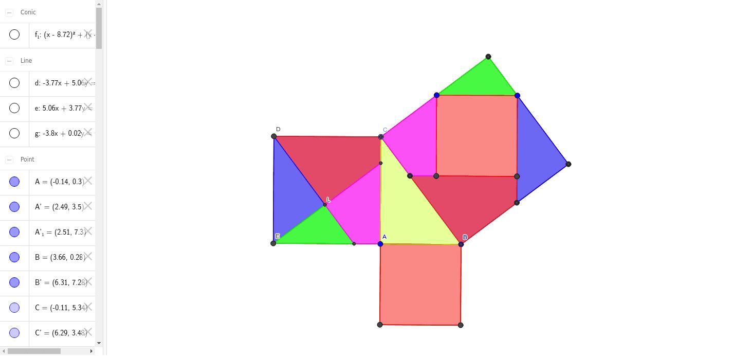 Pitagoras..... Presiona Intro para comenzar la actividad