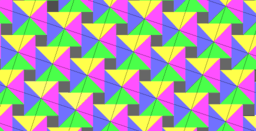 Pythagorean Theorem by Tessellation # 37 Tiling