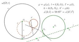 Теорема 6. за инверсията, случай 2.