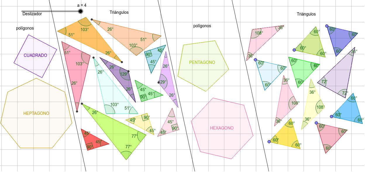 Composición de Polígonos