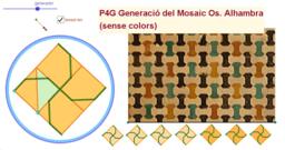 P4G. Generació del mosaic Os. Alhambra