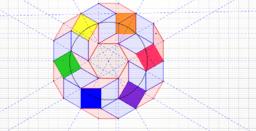 estructura de círculo cromático