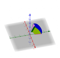 Tracing out region of integration in spherical coordinates