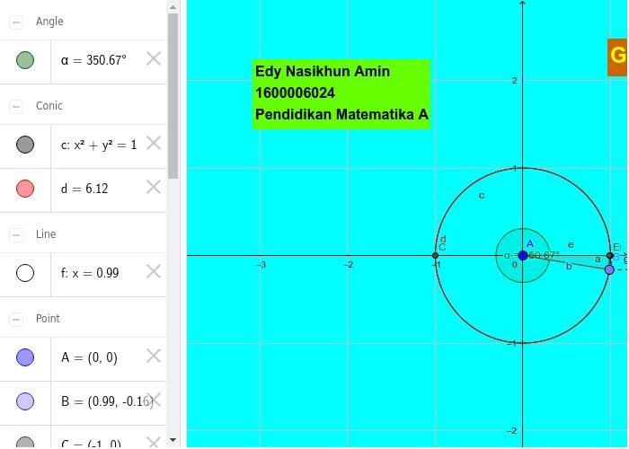 Grafik fungsi sinus dengan lingkaran geogebra grafik fungsi sinus dengan lingkaran author edynasikhunamin1600006024uad ccuart Choice Image