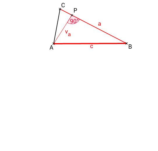 konstrukce - využití Thaletovy kružnice