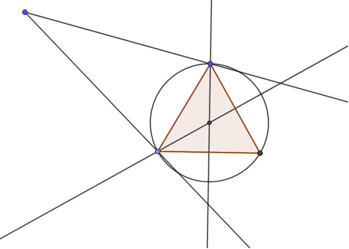 """Avec triangle équilatéral Tapez """"Entrée"""" pour démarrer l'activité"""