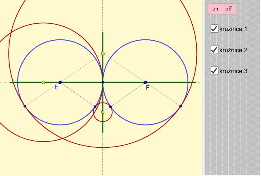 Poloha 2 - Dvě přímky