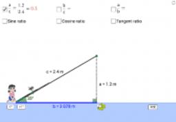 Trigonometric Ratios: Cosine & Tangent 三角比:餘弦和正切