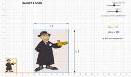 Figures semblables vs rapport des aires