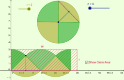 Copy of Area of a Circle - Wedge/Sector Demonstration