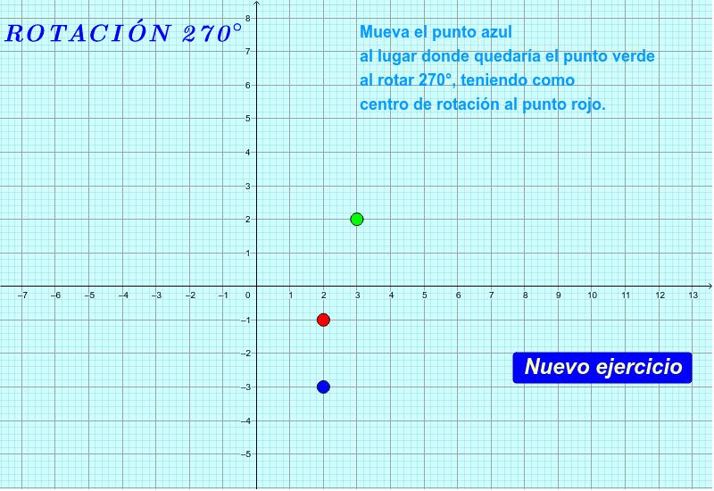 """Siga la instrucción. Si su respuesta es correcta, aparecerá """"¡Muy bien!"""" La gráfica se puede arrastrar y hacer zoom. Presiona Intro para comenzar la actividad"""