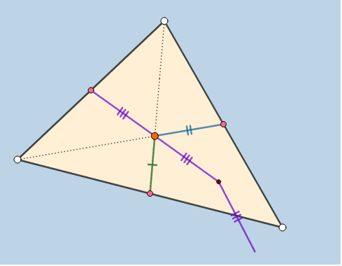 What phenomenon is dynamically being illustrated here? (Vertices are moveable.) Press Enter to start activity