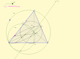Intersección de circunferencia y recta