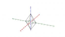 Tetrahedrons and Diamonds