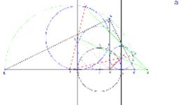 Cercles du triangle rectangle tangents au circonscrit