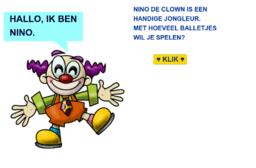 Nino de clown