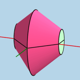Custom Solid: Elliptical Cross Sections Parallel to yAxis