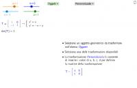 Matrici e trasformazioni lineari
