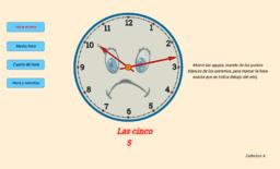 El reloj (Actividad para aprender la hora)