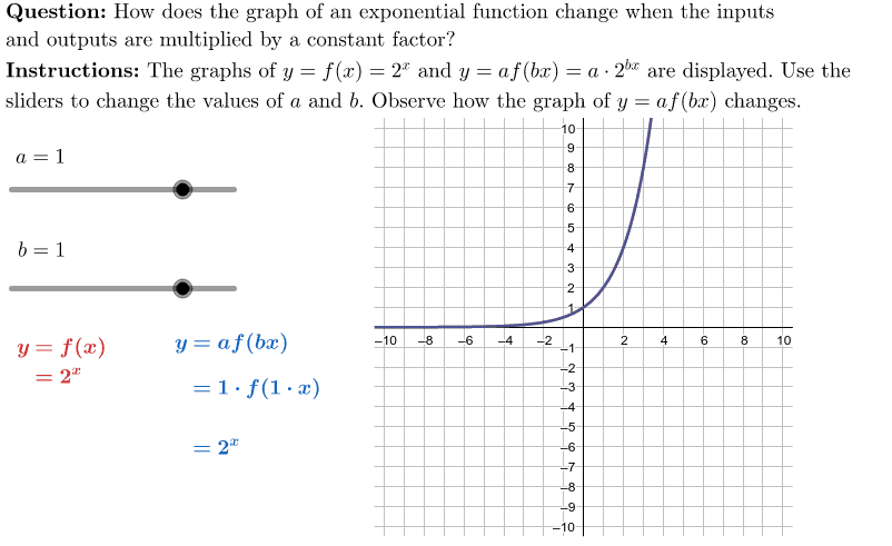 ET1-04-P2a-XT1 Transformations of Exponential Functions