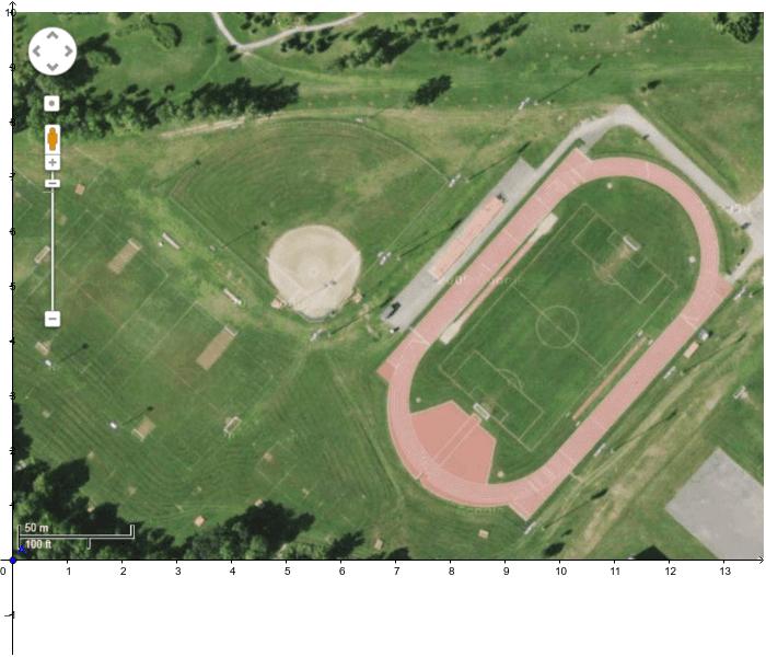 Terrain baseball-GeoGebra