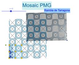 Mosaic PMG de la Rambla de Tarragona