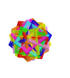 正6面體10疊合-A