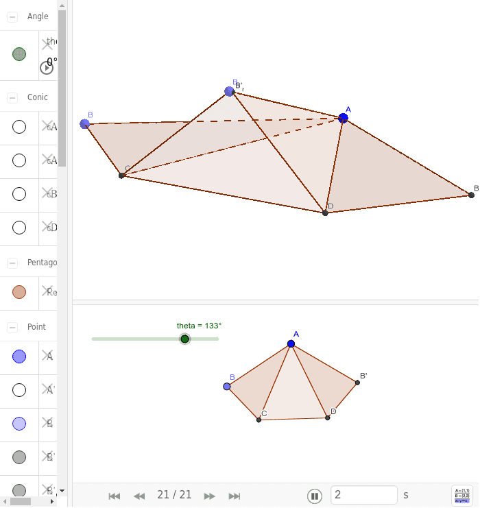 Task_B: Paper folding 按 Enter 鍵開始活動