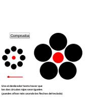 Ilusiones ópticas y estadística IV-Circulos de Ebbinghaus