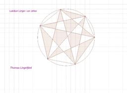 Lektion Linjer i en cirkel