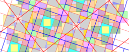 Pythagorean Tessellation # 39 Tiling