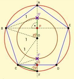 Dána kružnice opsaná - Olbřímí konstrukce