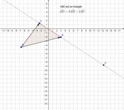 Colinéarité de vecteurs et alignements de points