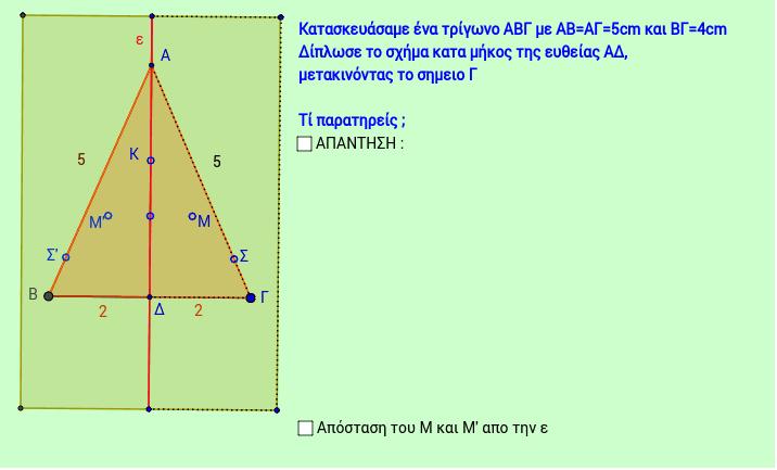 Συμμετρία ως προς άξονα 1