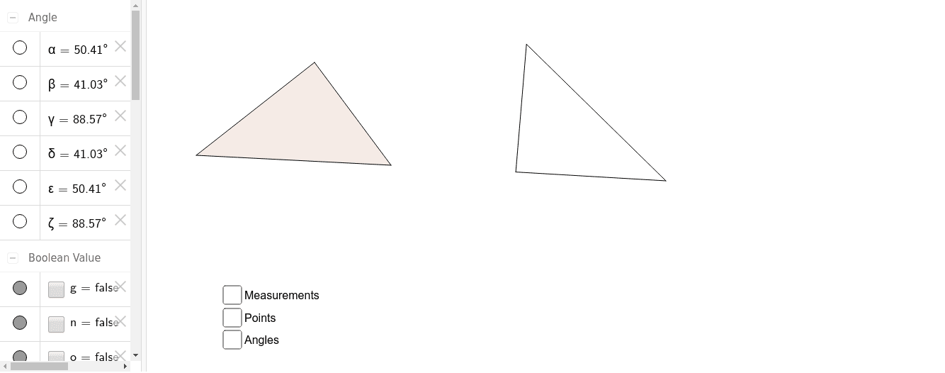If all corresponding sides are congruent, are the two triangles congruent?