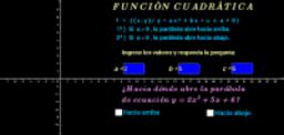 Función cuadrática ( concavidad - ejercicios )