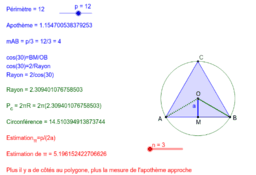 Estimation de Pi