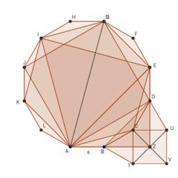 Dodecagon Diagonals