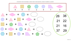Cálculo mental geométrico