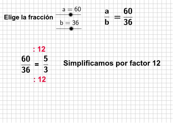Simplificación de fracciones Presiona Intro para comenzar la actividad