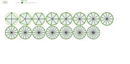 Copy of JavaScript generates regular polygon inscribed in circles