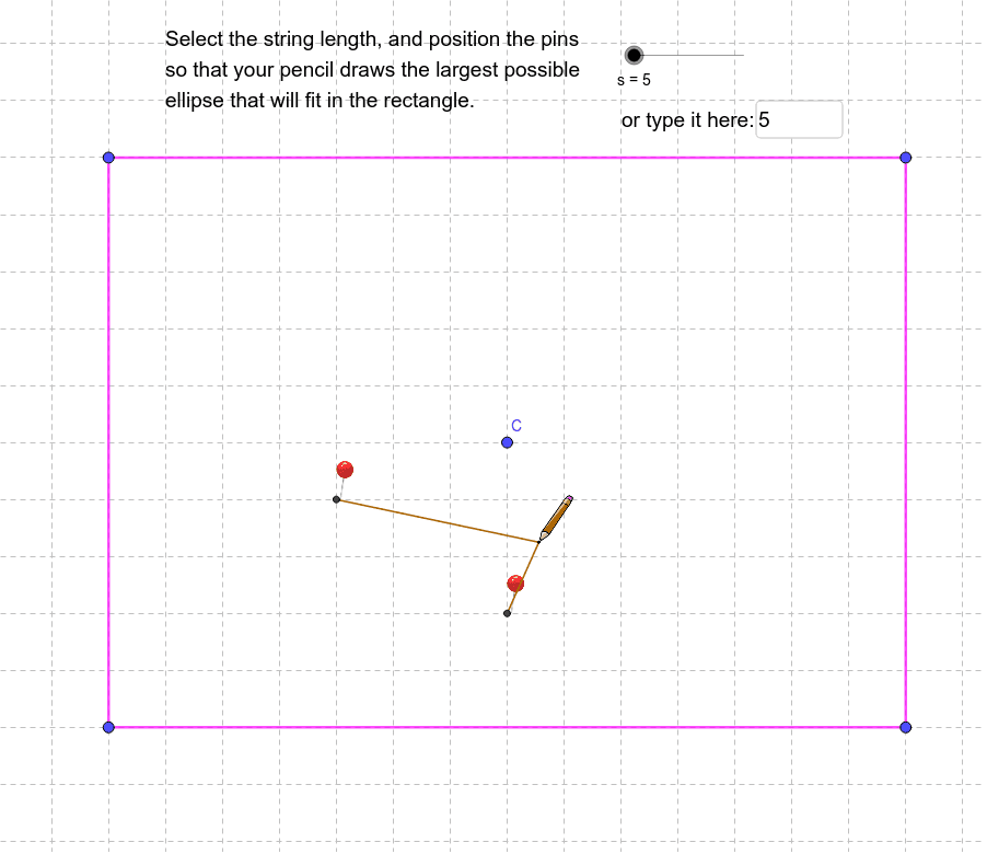 Drawing with string: Press Enter to start activity