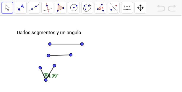 Construye dos triángulos que sean congruentes utiliza las medidas proporcionadas.