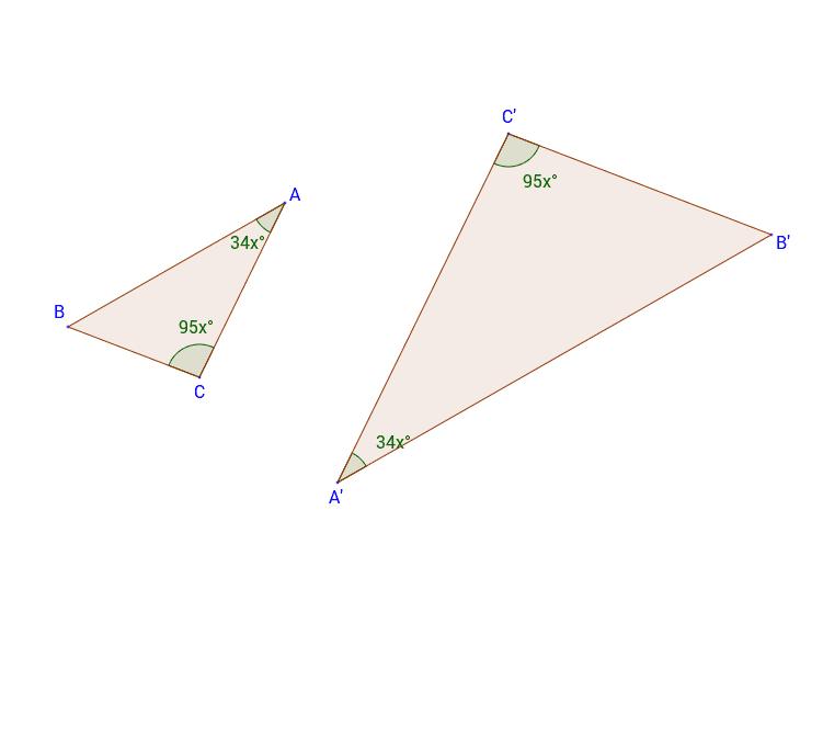 """Deux angles de même mesure Tapez """"Entrée"""" pour démarrer l'activité"""