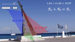 Теорема на Питагор (4).