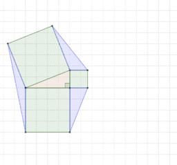 Pythagoras - areal af ydre trekanter
