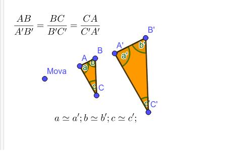 Semelhança de triângulos (II)