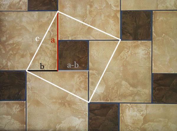 Úkol: Najděte všechny symetrie Pythagorejské dlažby.