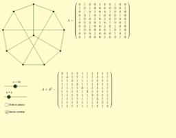 Conexión en grafos con recorridos de longitud (menor o) igual a k