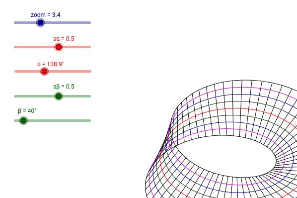 Wstęga Mobiusa / Möbius strip